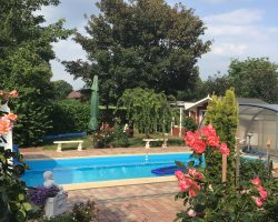 Hauptwohnung-Pool