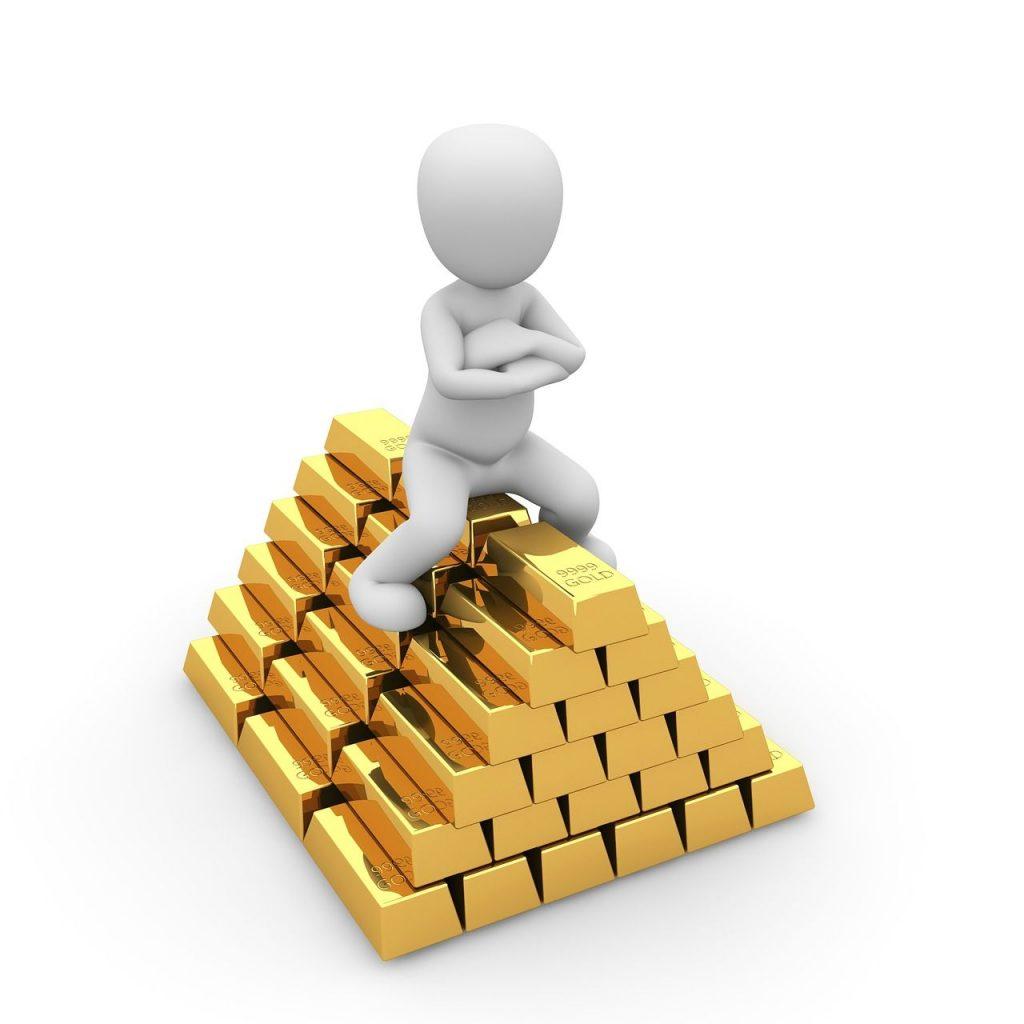 Goldpreis tritt auf der Stelle