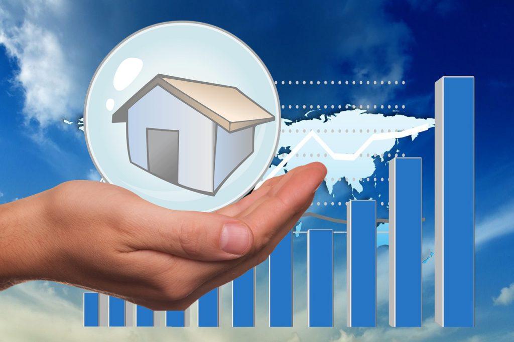 Immobilien-Darlehenssumme binnen zehn Jahren verdoppelt