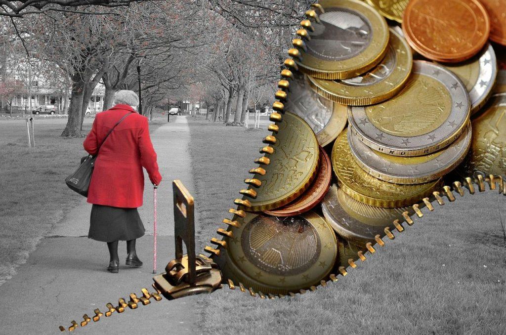 Zahl armutsgefährdeter Senioren gestiegen